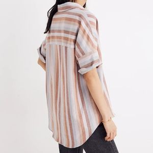 Courier Shirt in Sunset Stripe, M